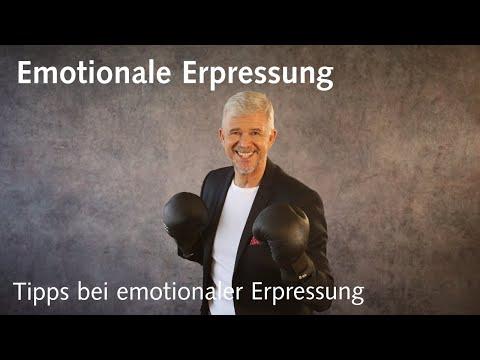 Tipps für den Umgang mit emotionaler Erpressung