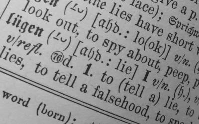 Lügen in Interviews ist keine gute Idee