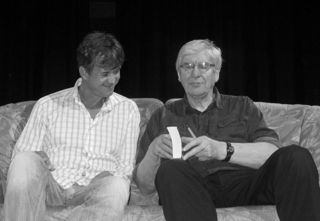 Keith Johnstone und Karsten Noack