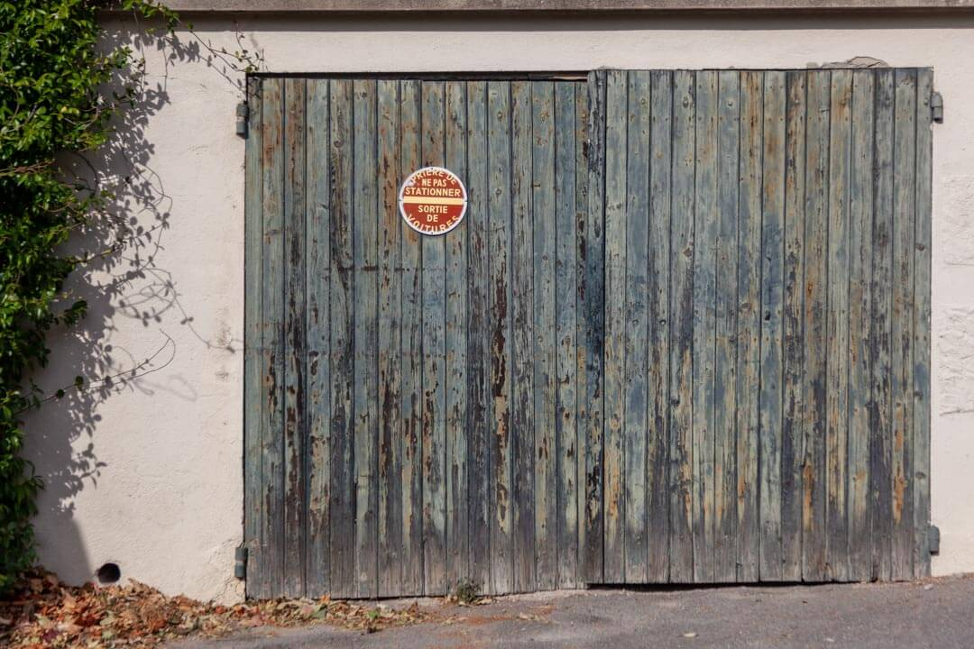 Kreativität für Geschäftsideen. Garage.