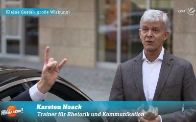 Der türkische Präsident Recep Tayyip Erdoğan in Berlin, die Rabia-Geste und was es zu lernen gibt